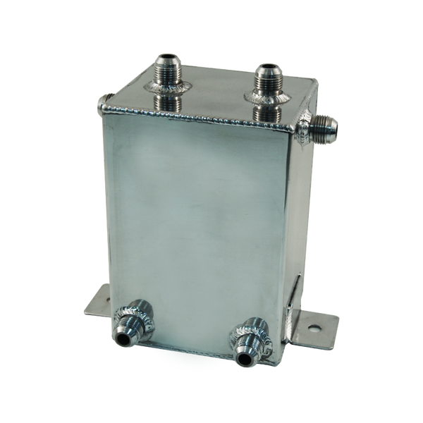 CAL CUSTOM 3 LITRE RECTANGULAR SURGE TANK POLISHED ALUMINIUM
