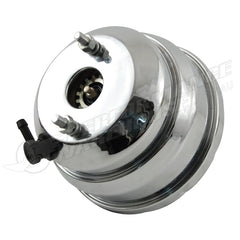 "CHROME 8"" DUAL DIAPHRAGM POWER BRAKE BOOSTER"