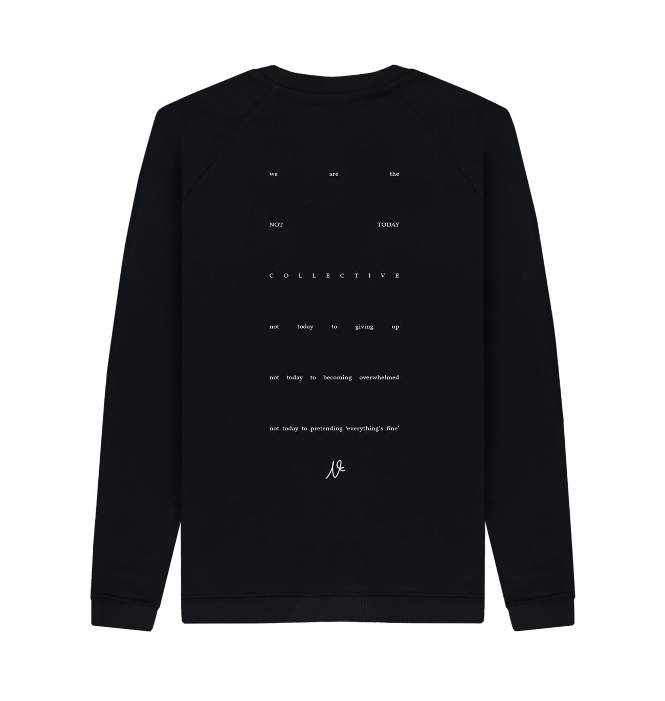 Standard Issue Sweatshirt - Black (Unisex)