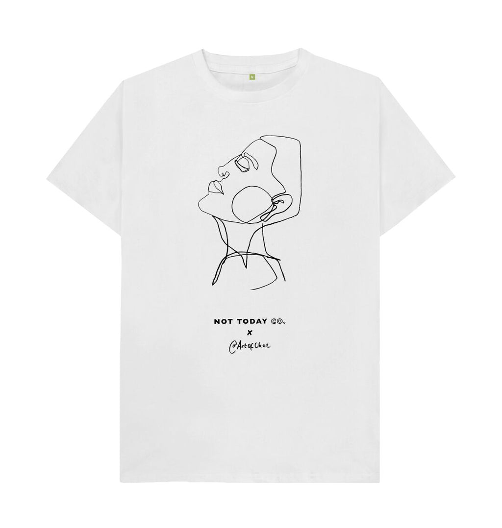 White ART OF CHAZ - UNISEX