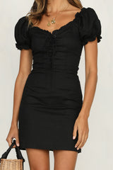 Las Palma Dress (Black)