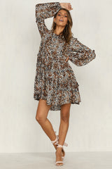 Portia Dress (Leopard)