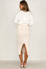 First In Skirt (beige)