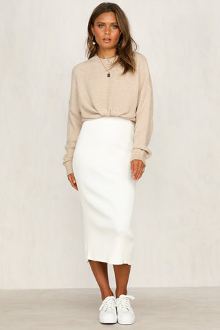 First In Skirt (White)