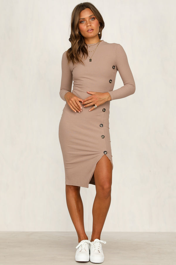 Tabitha Dress (Mocha)