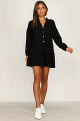 Talk Of The Town Dress (Black)