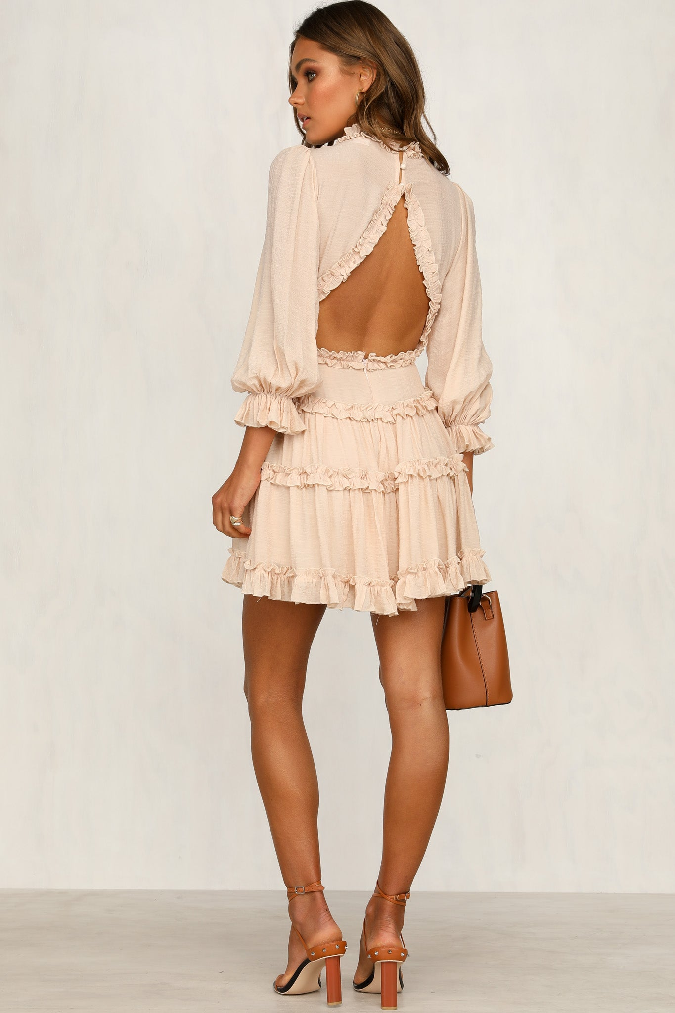 Could Be You Dress (Beige)