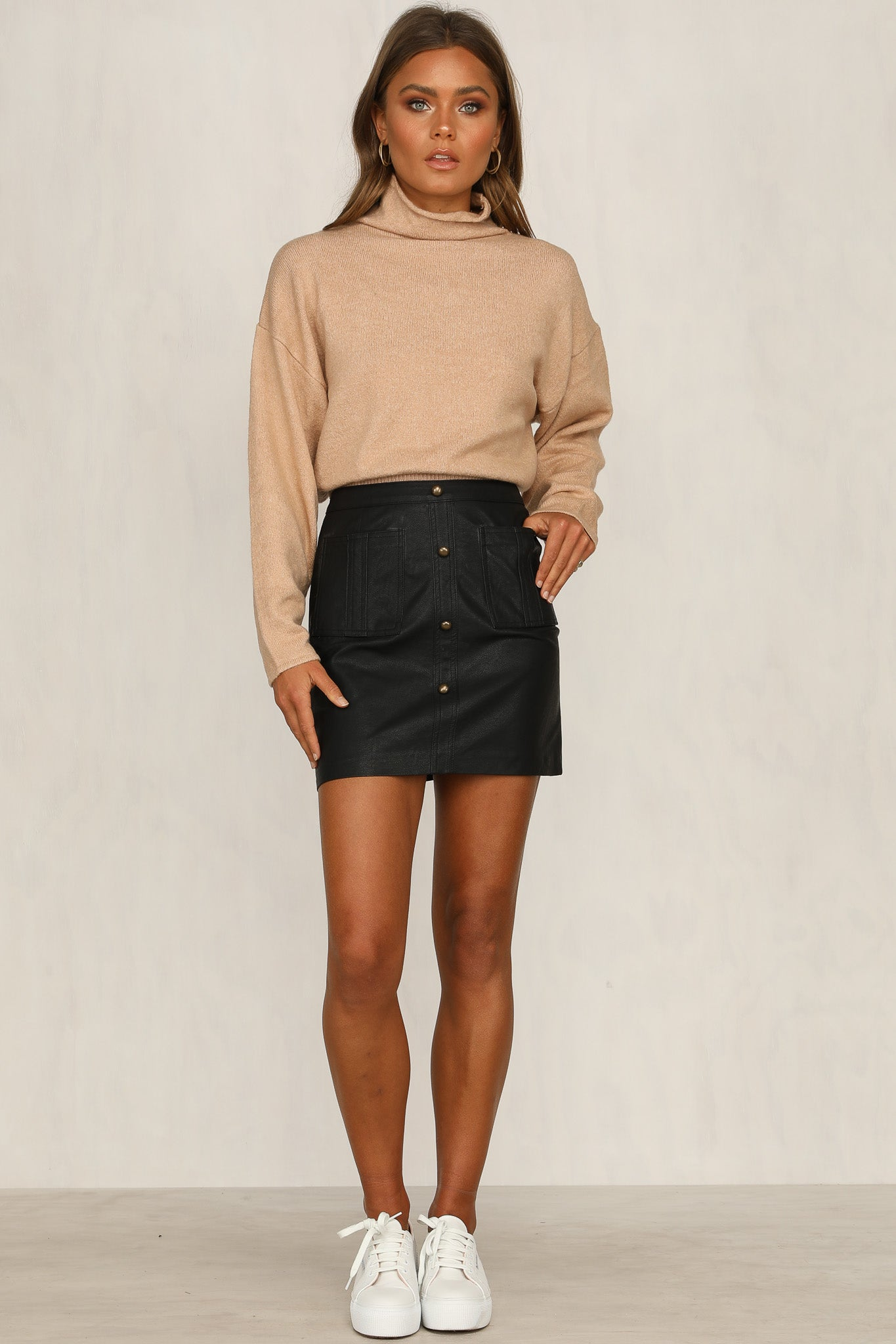 Late To The Party Skirt (Black)