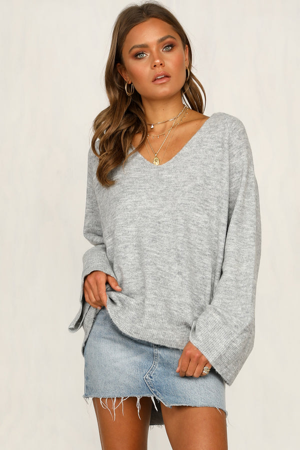 Helm Knit Top