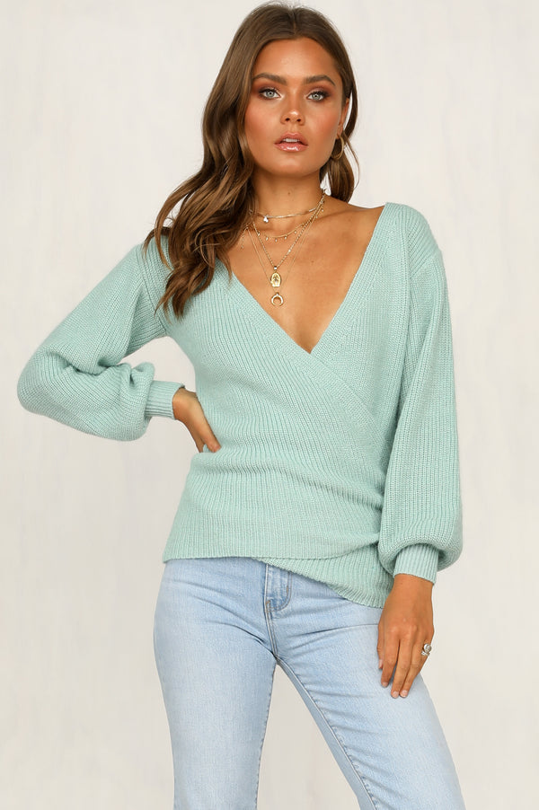 Sea Change Knit (Sage)
