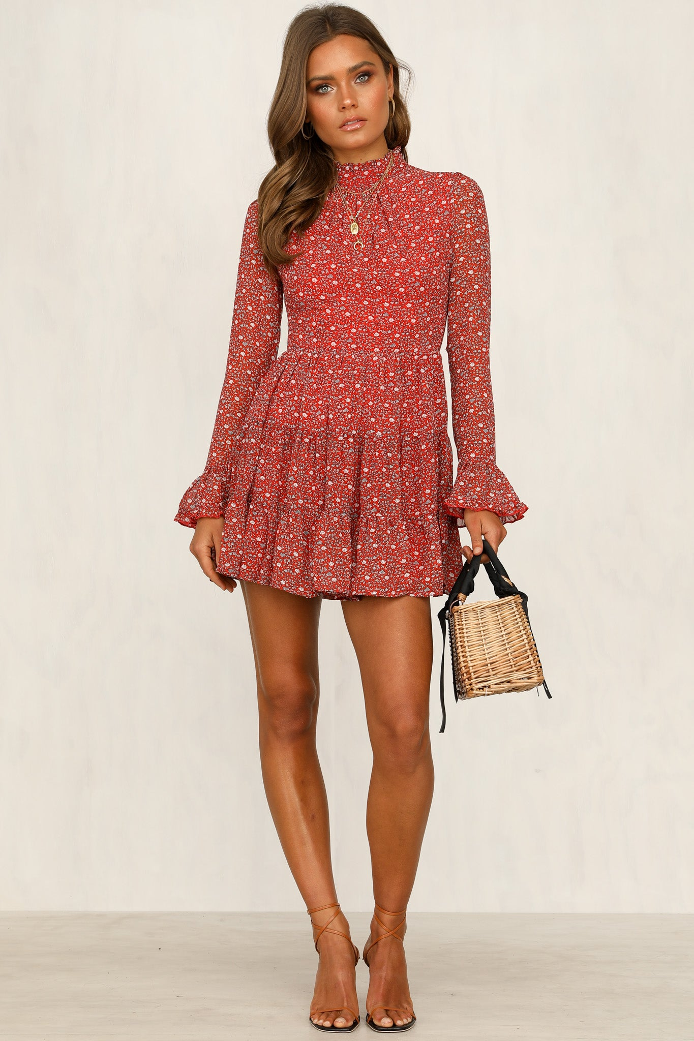 Sweetest Memories Dress (Red)