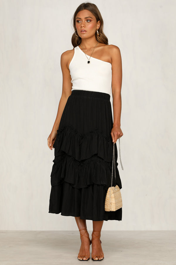 Audacious Skirt (Black)