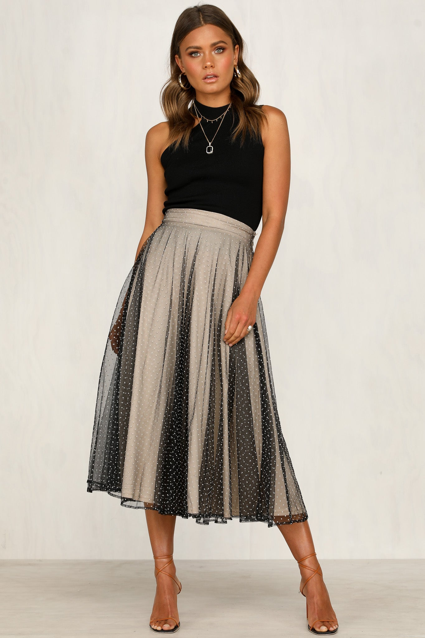 Wish You Well Skirt (Black Tulle)