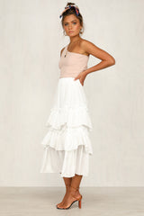 Audacious Skirt (White)