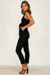 Waverly Jumpsuit (Black)