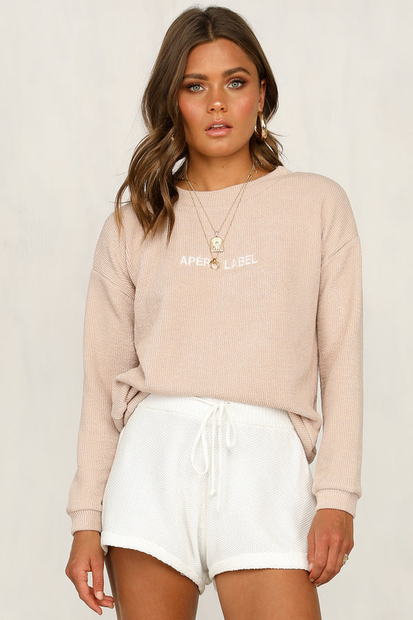 Apero Label Knit Top