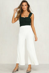 Rory Knit Pants (White)