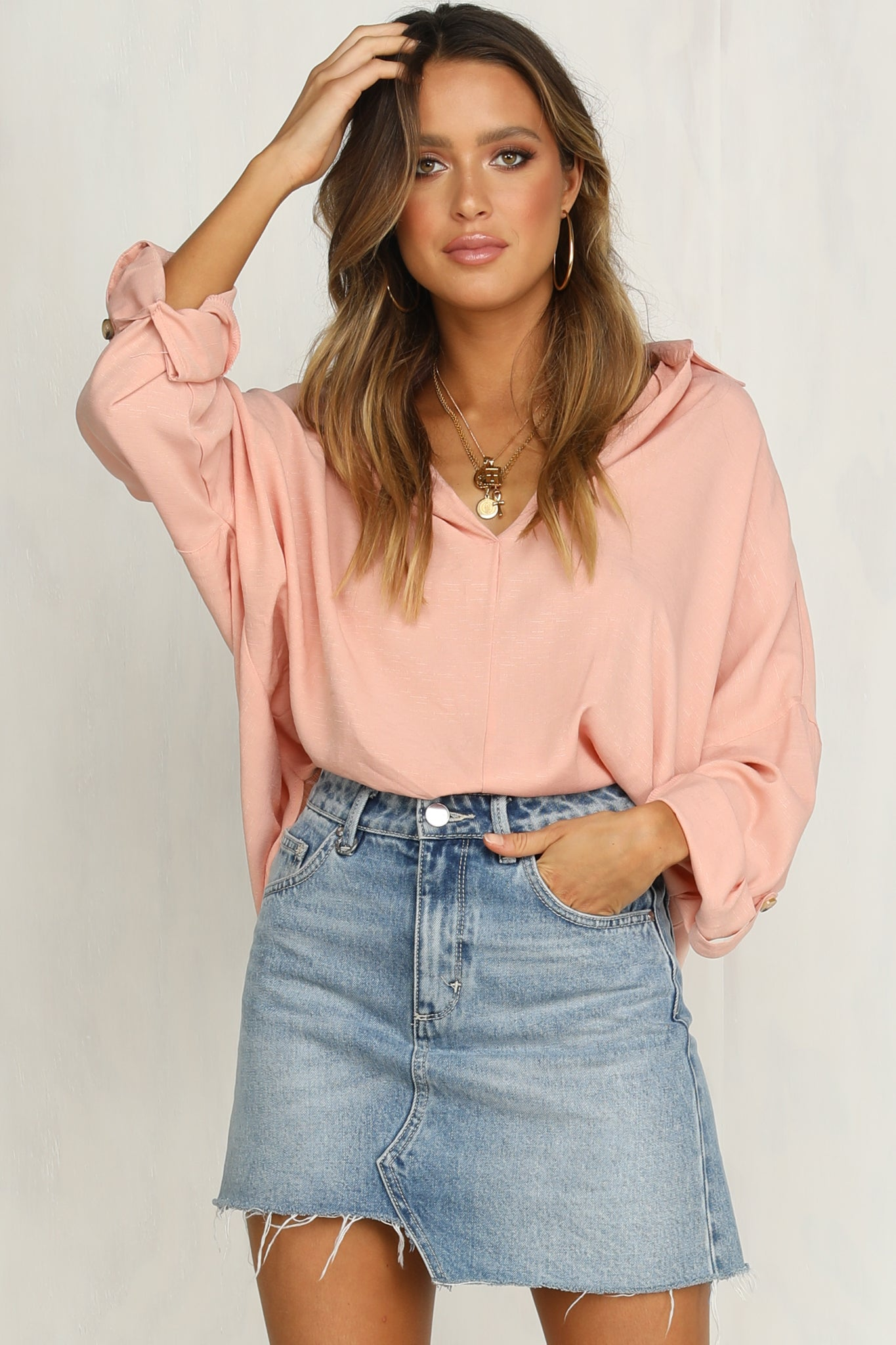 Beverly Top (Blush)