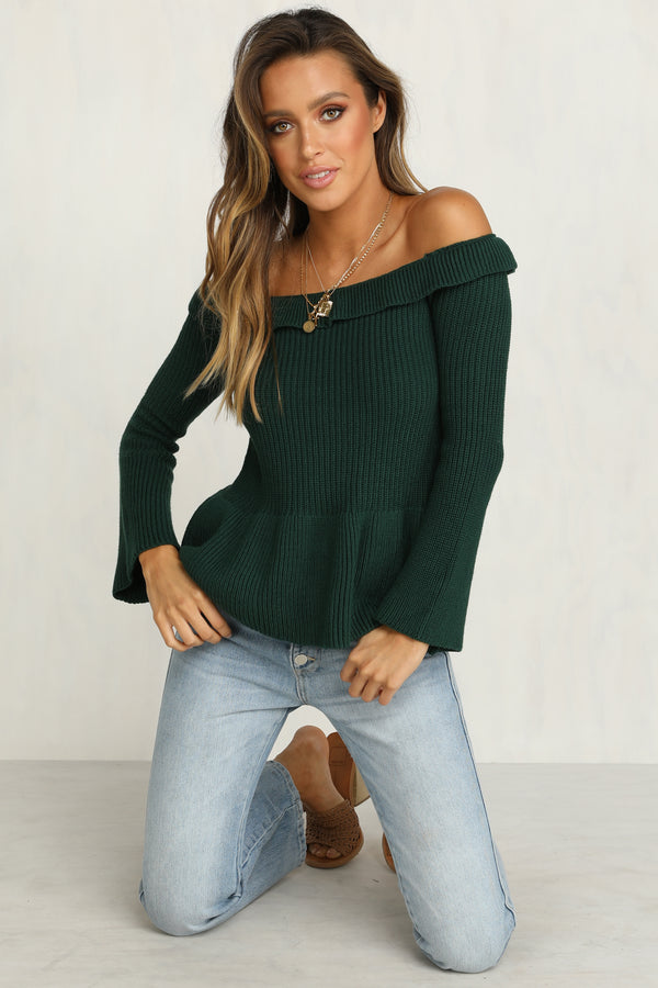 Full Speed Knit Top