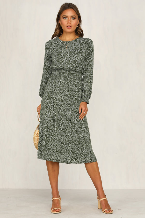 Way You Move Dress (Green)