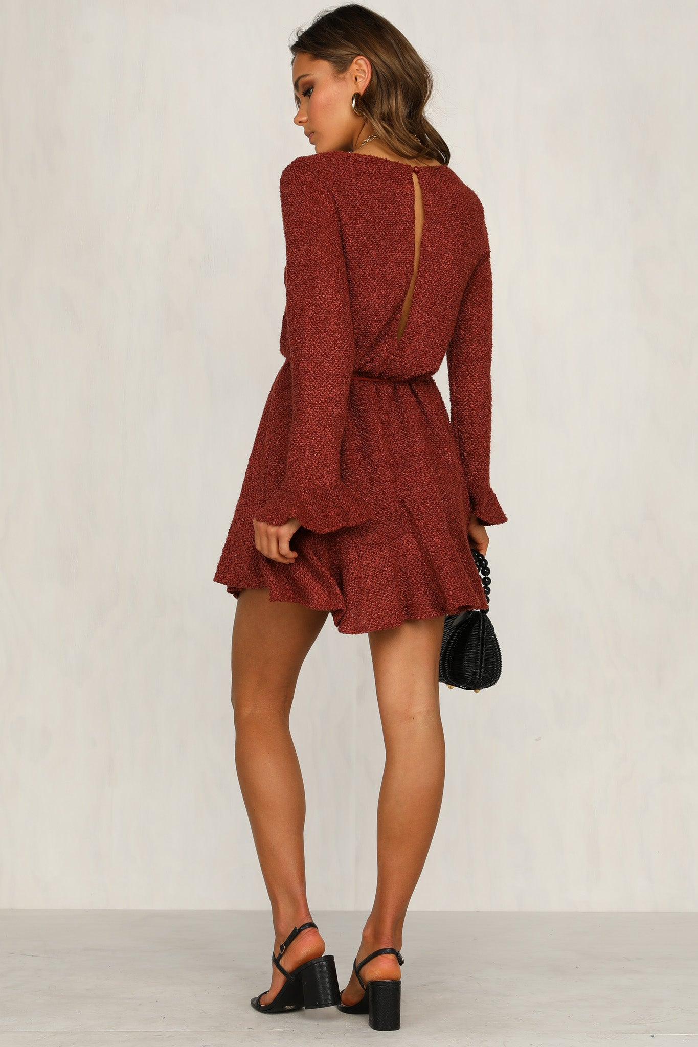 Little Things Dress (Wine)