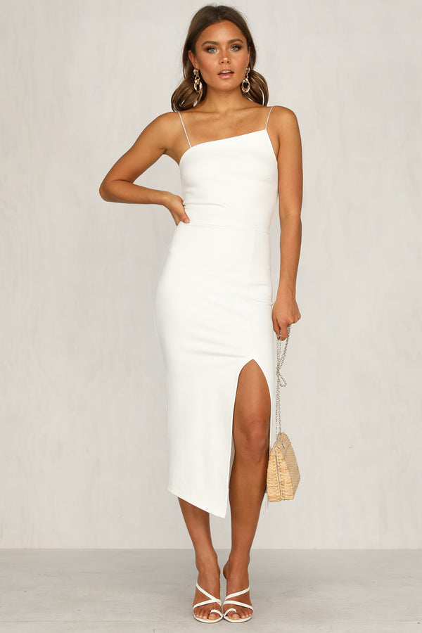 Bold Move Dress (White)