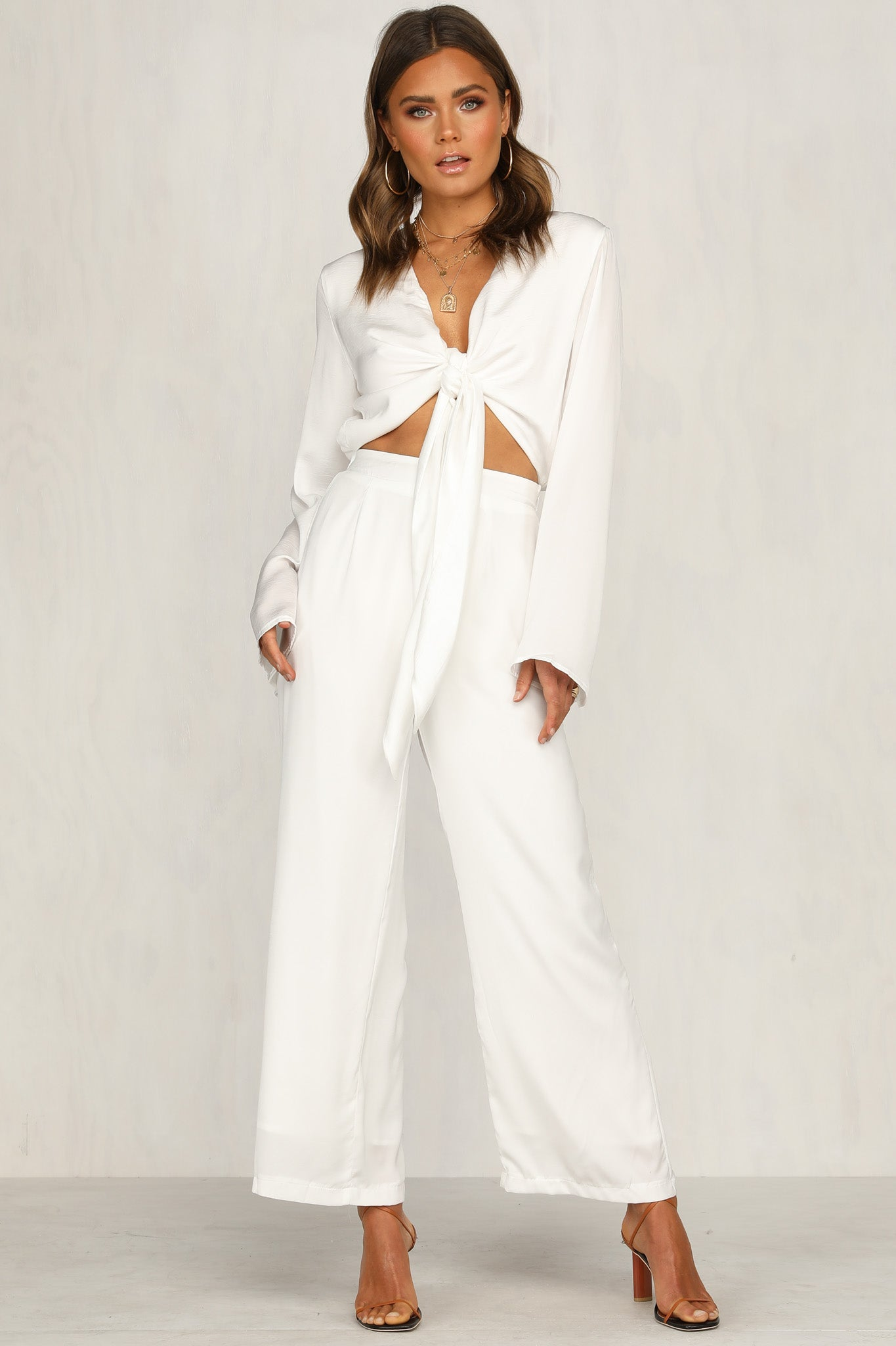 Pluto Jumpsuit (White)