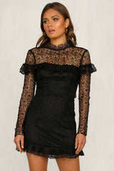 Daisy Lady Dress (Black)