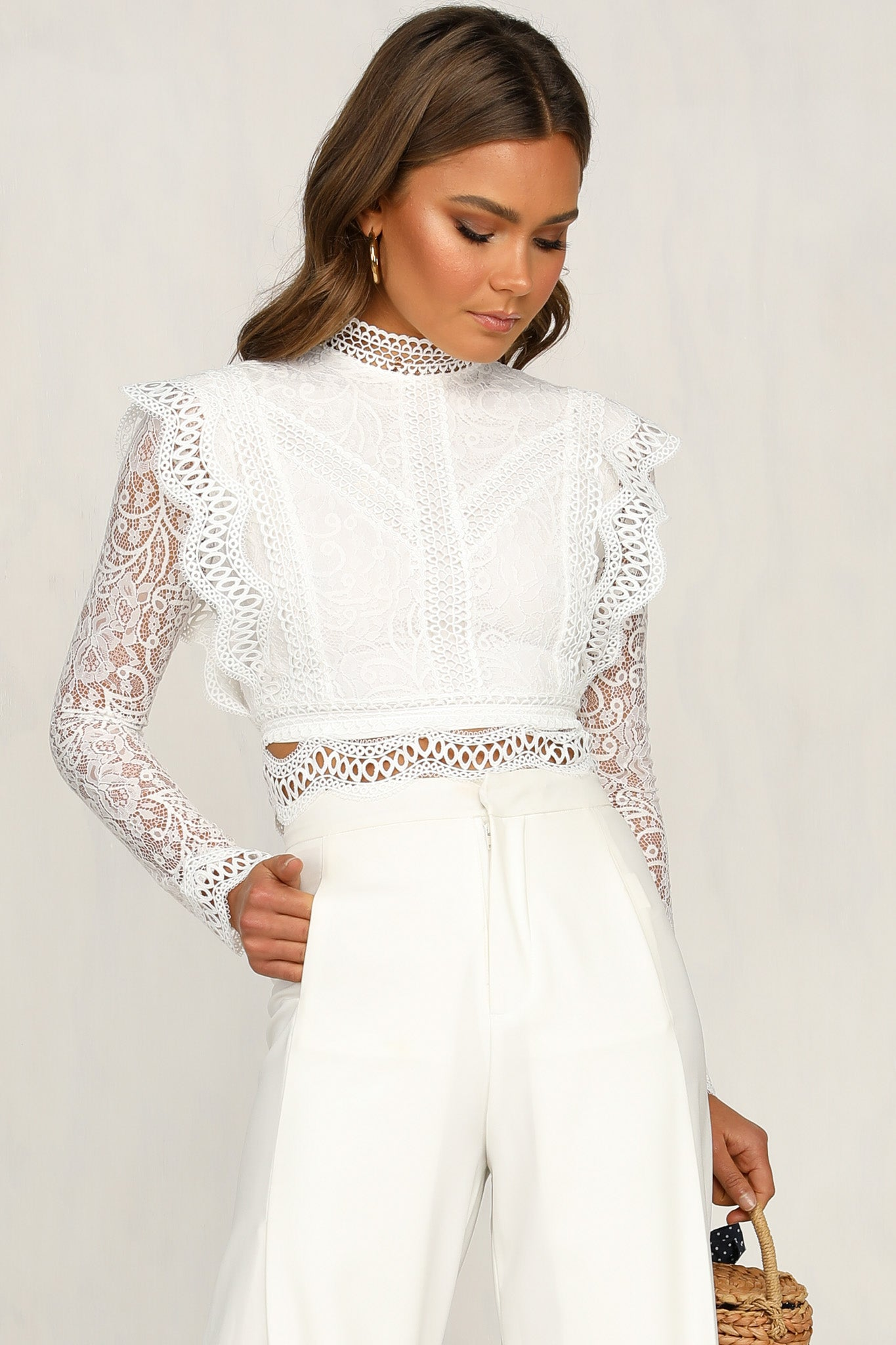 Fussy Top (White)