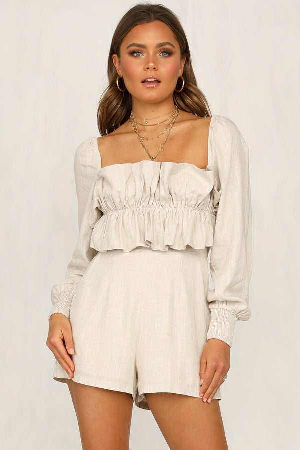 By The Bay Playsuit