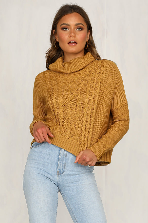 Heated Moments Knit Sweater