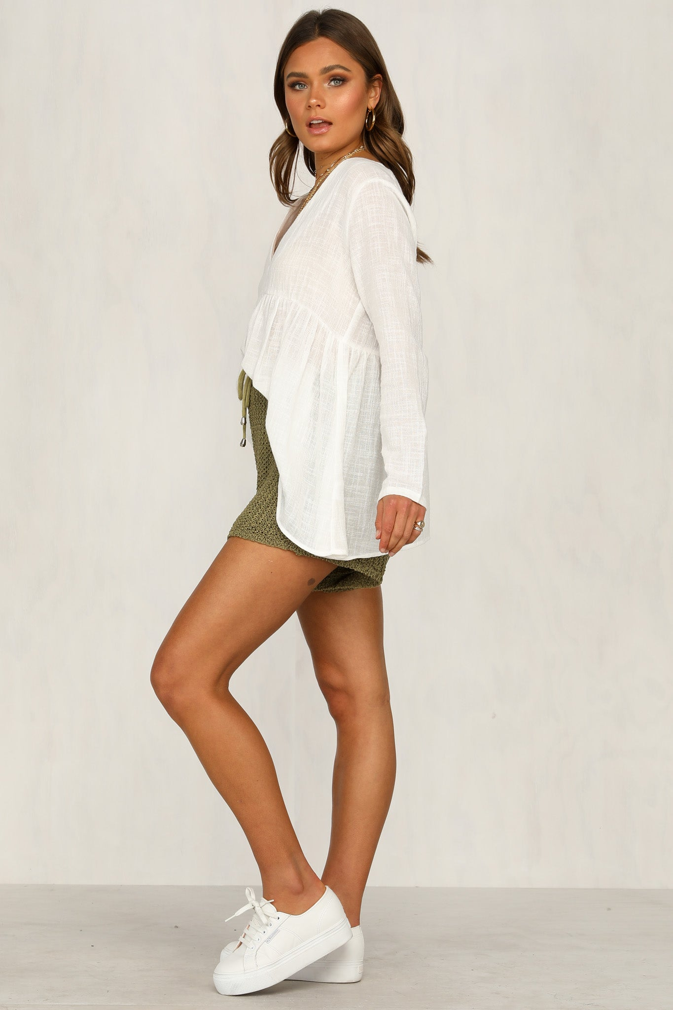 Casa Knit Shorts (Khaki)