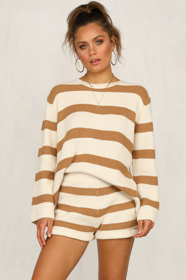 Dare To Dream Knit Set (Mocha)