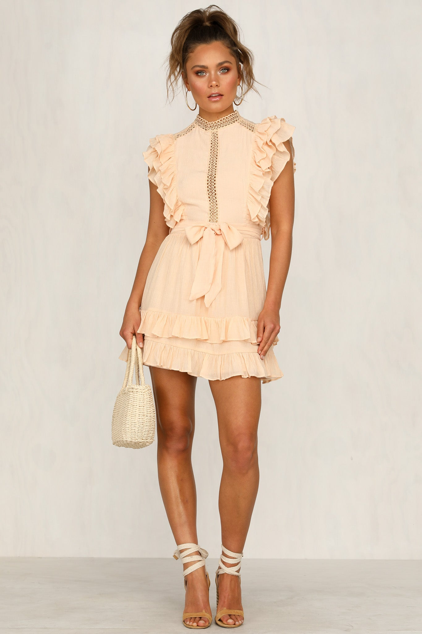 Clarita Dress (Peach)