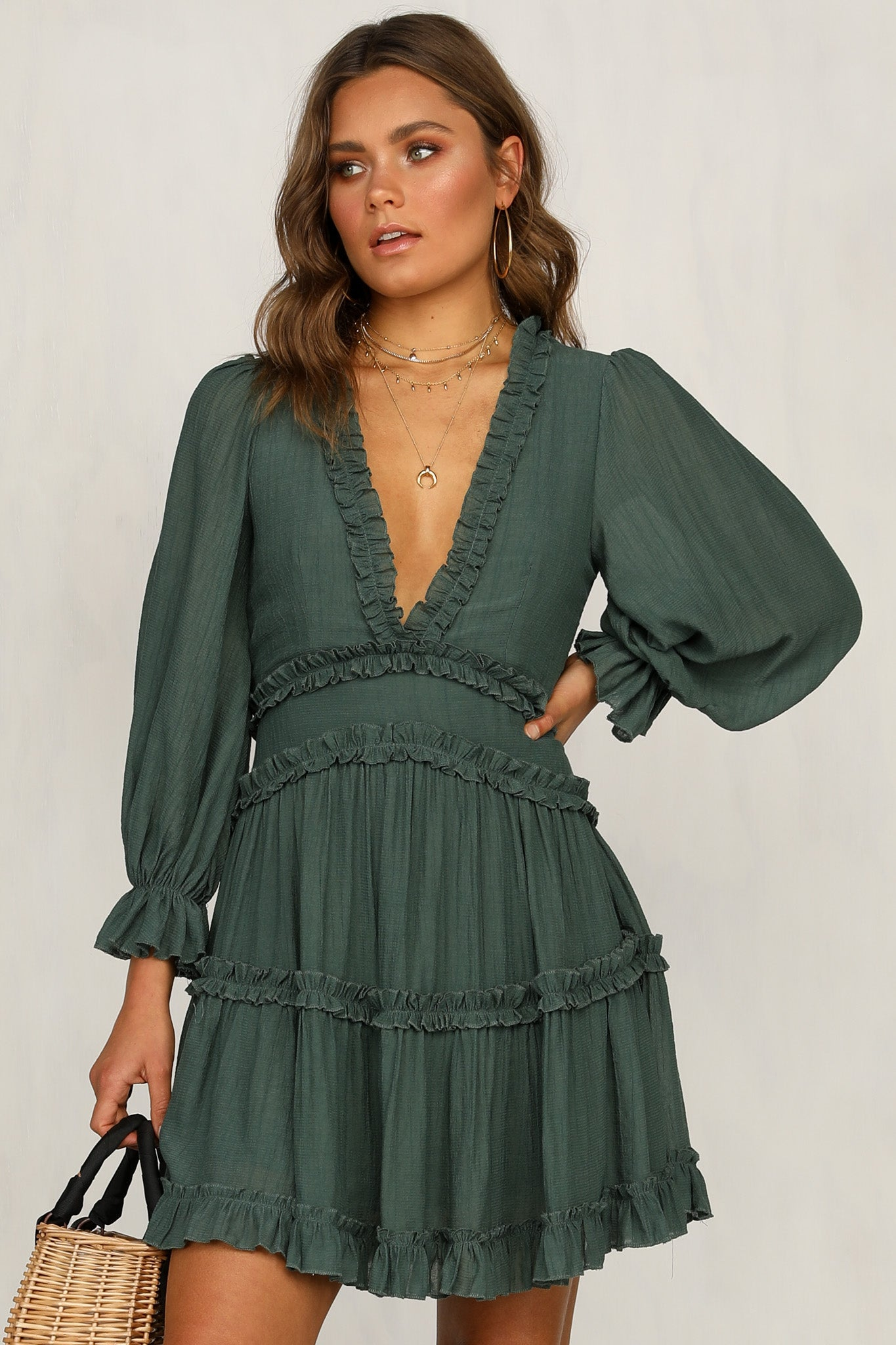 Could Be You Dress (Emerald)