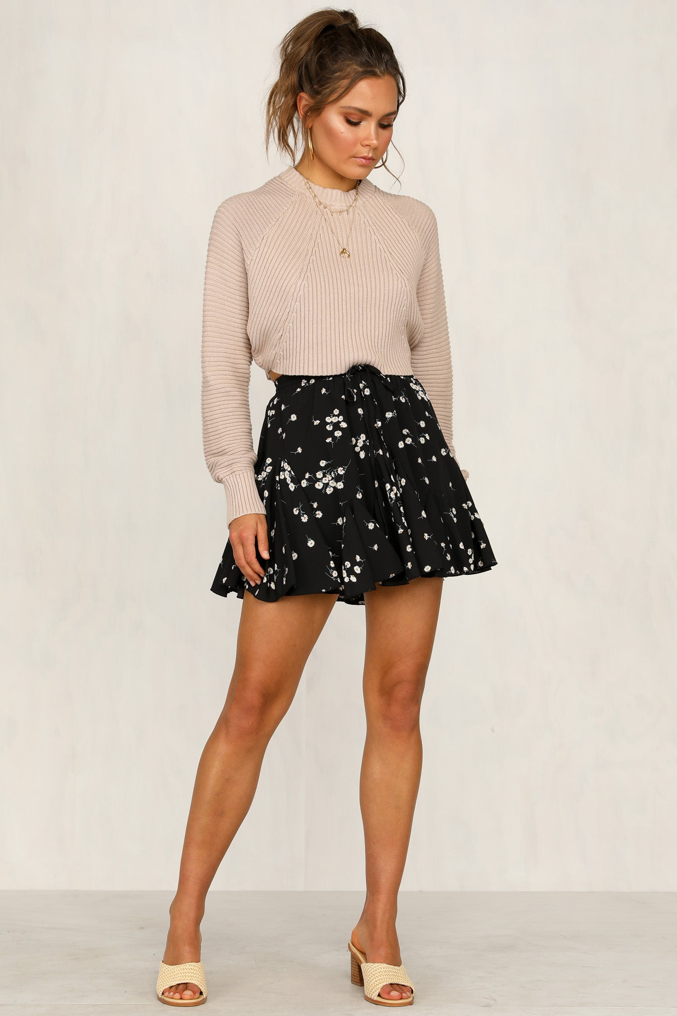 Day Dreaming Skirt (Black)