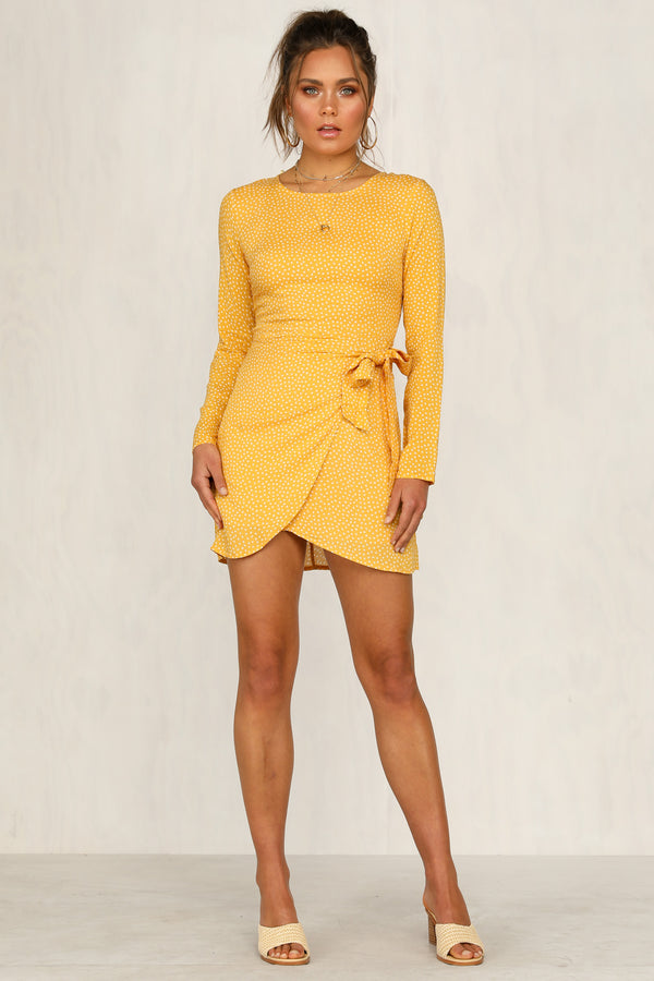 Garden Girl Dress (Yellow)