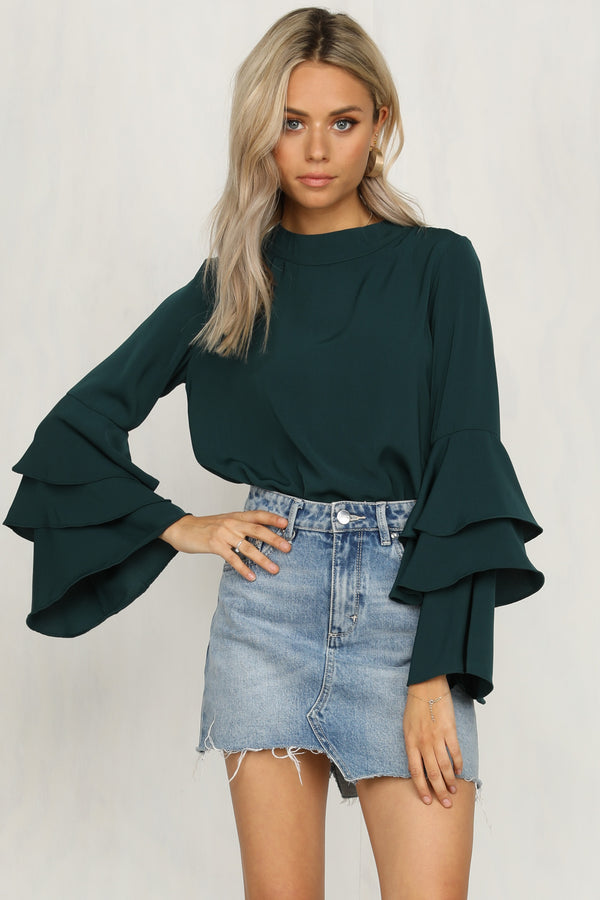Know Better Top (Teal)