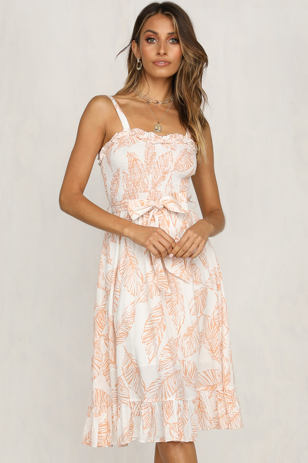 Sun Soaker Dress (Peach)