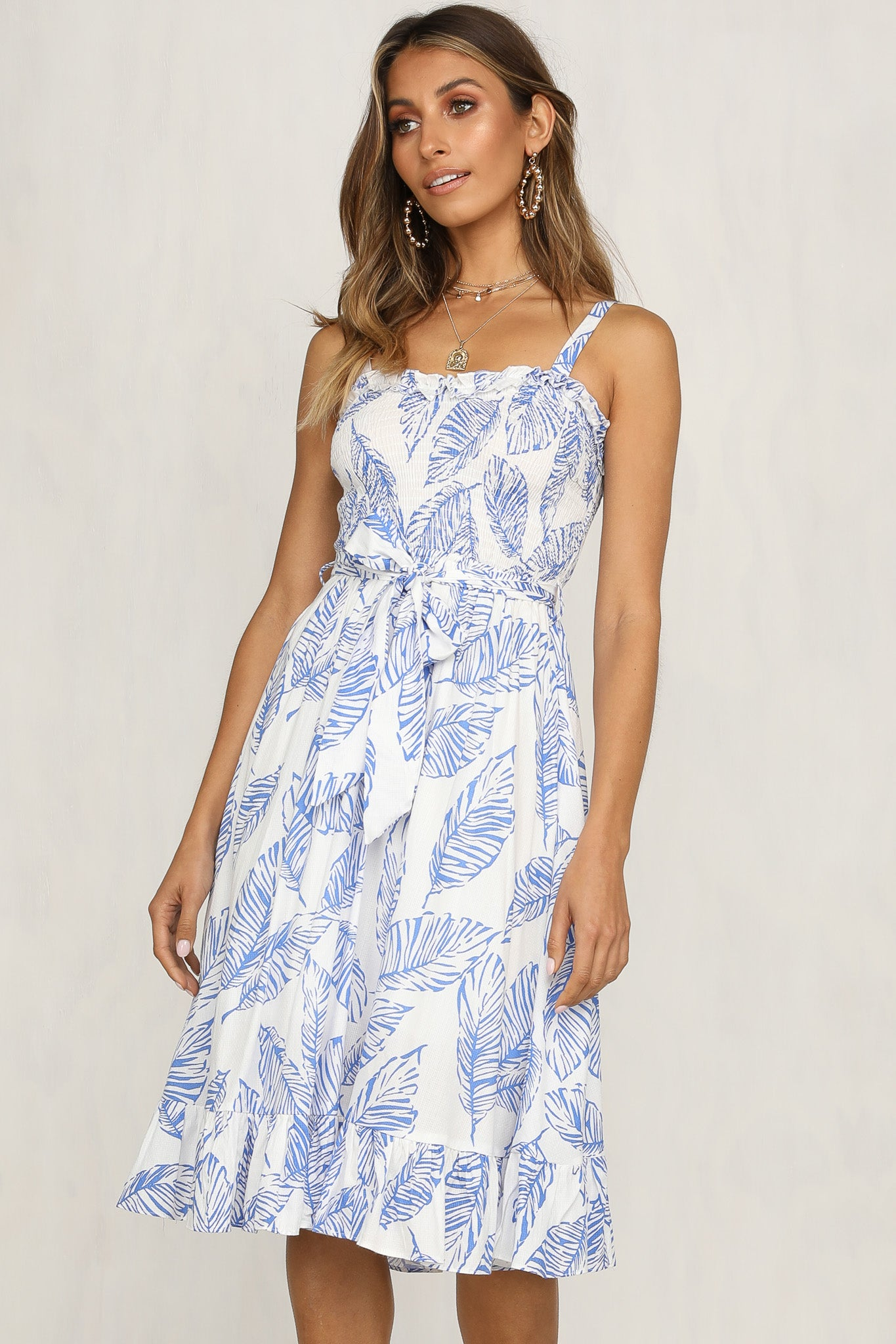 Sun Soaker Dress (Blue)