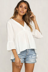 Slow Motion Top (White)