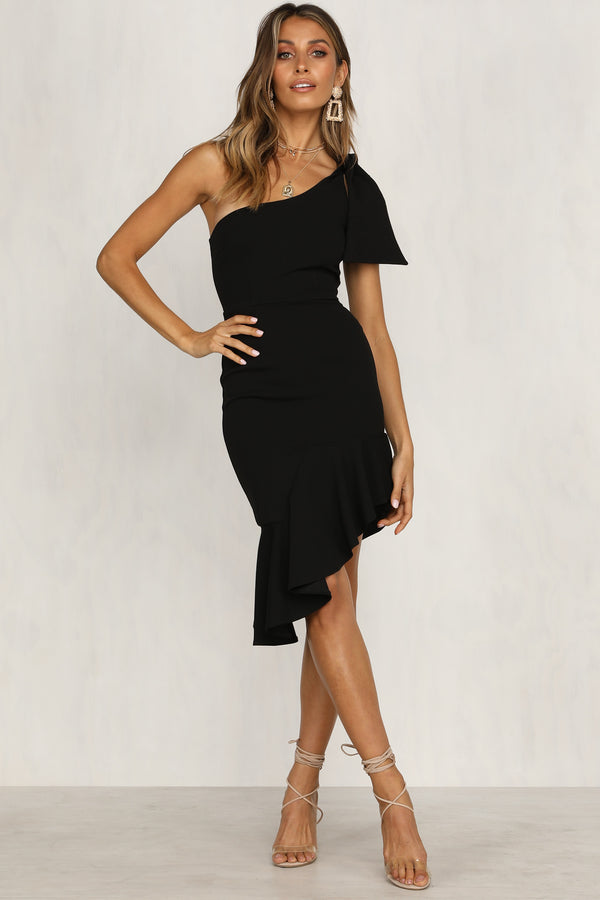 Dynasty Dress (Black)