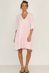 Madden Dress (Pink)