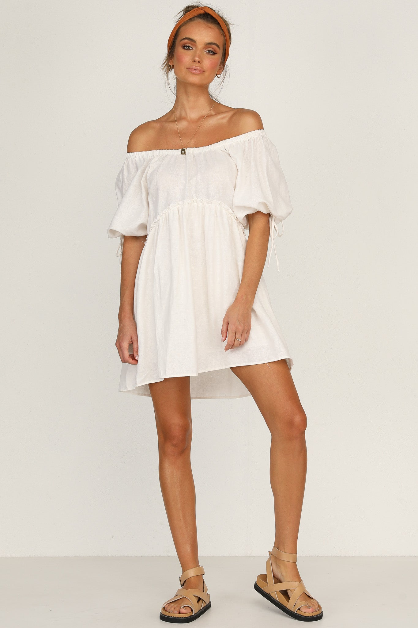 Khloe Dress (White)