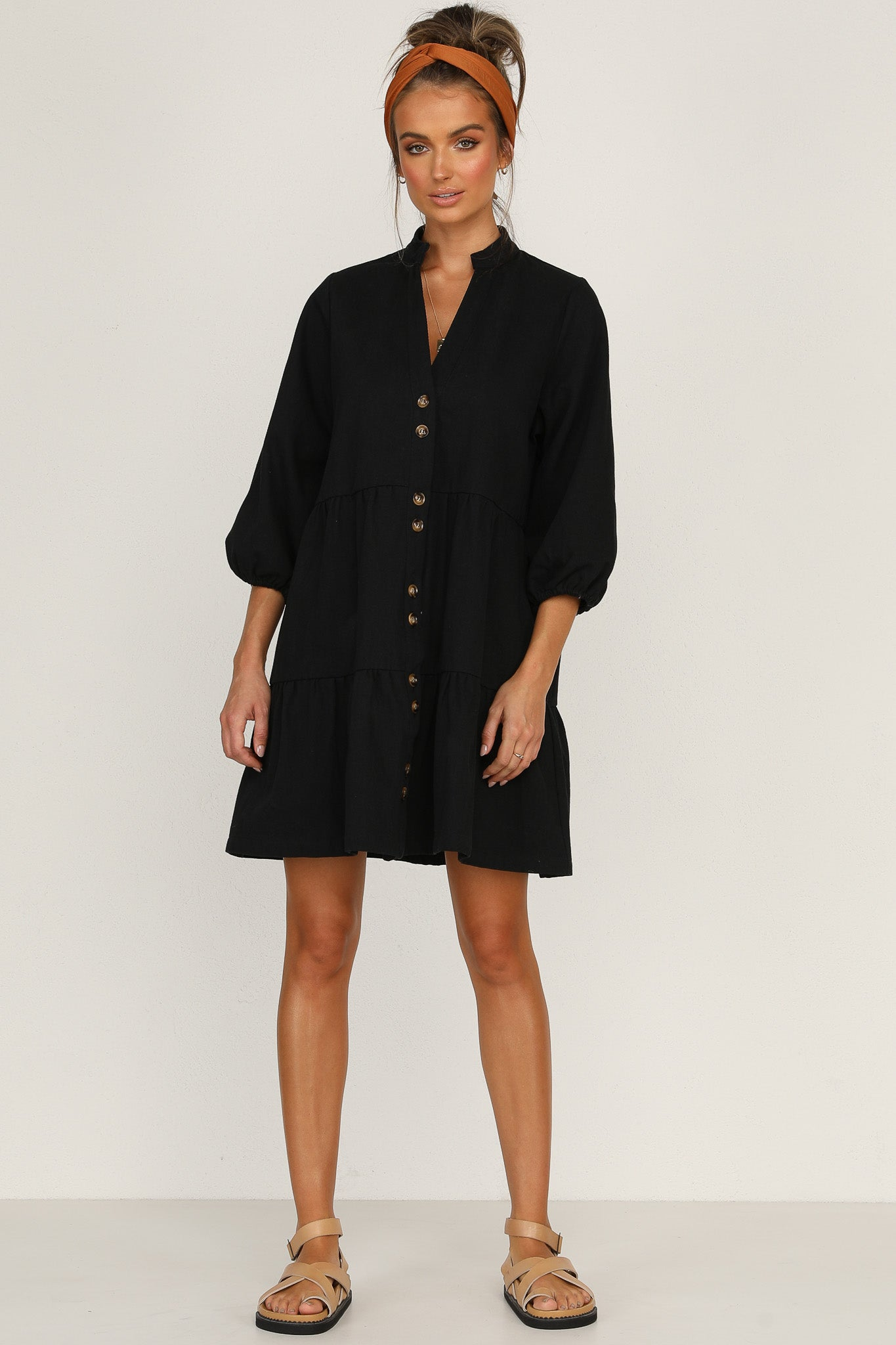 Zachary Dress (Black)