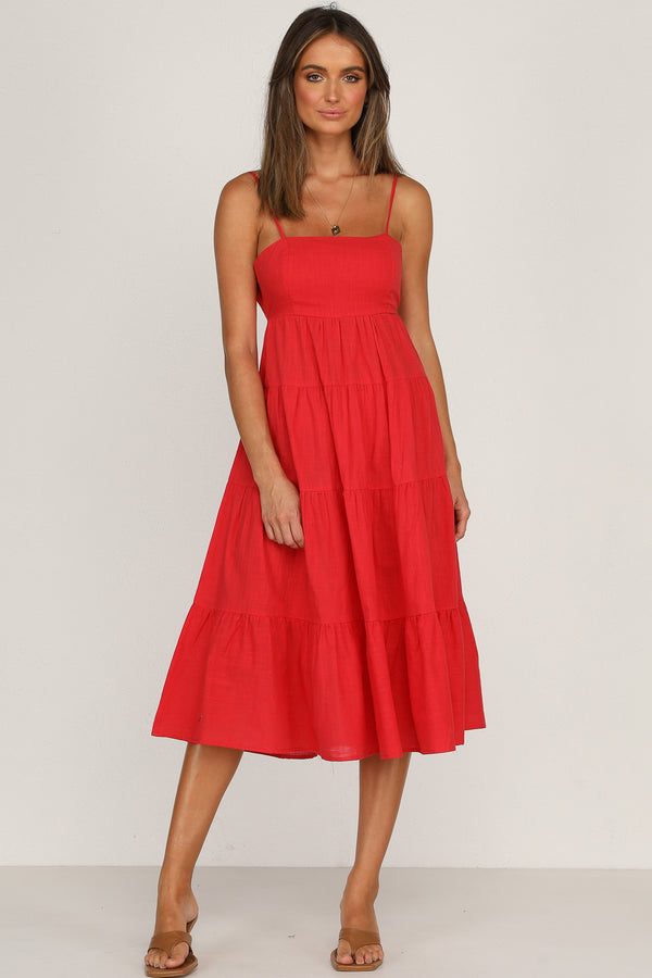 Manus Dress (Red)