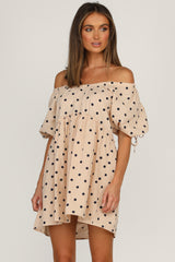 Kandi Dress (Beige)