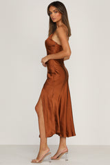 Teagan Dress (Rust)