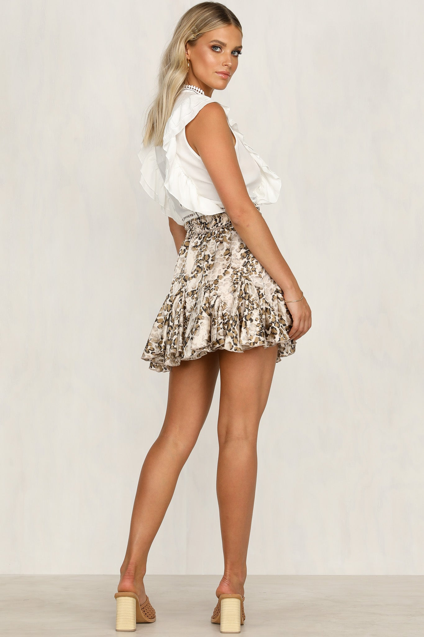 Wildfire Skirt (Champagne)