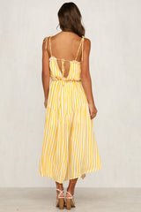 French Quarter Dress (Yellow)